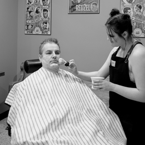 Hot Towel Shave -